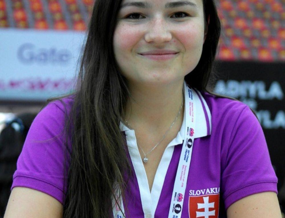 Monika Motyčáková úspešná slovenská šachistka